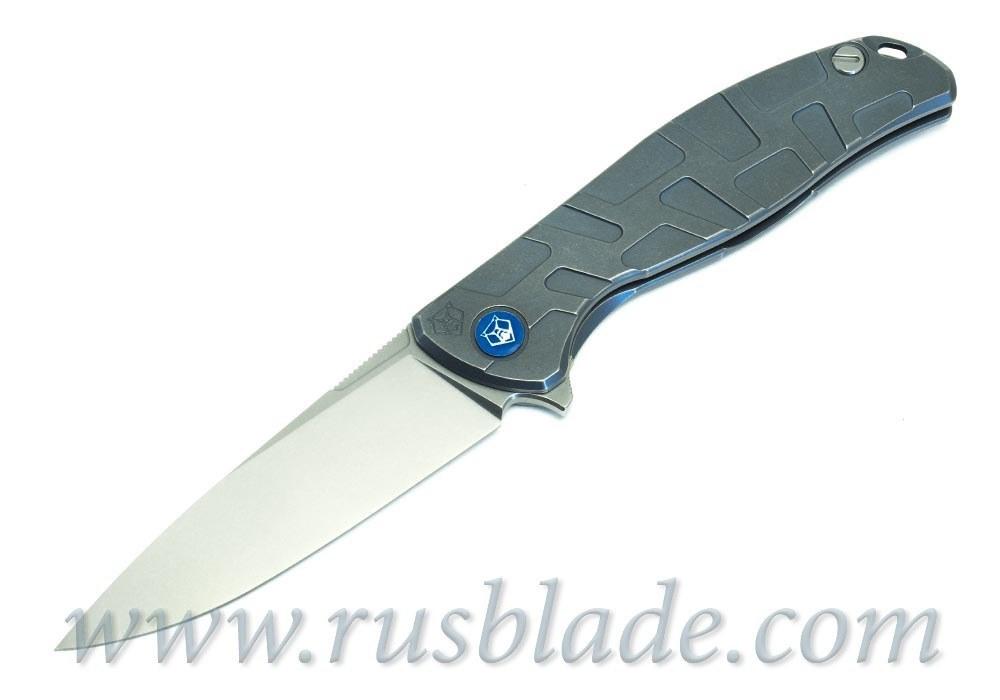 Shirogorov Flipper 95 M390 T-mode As blue MRBS 2019