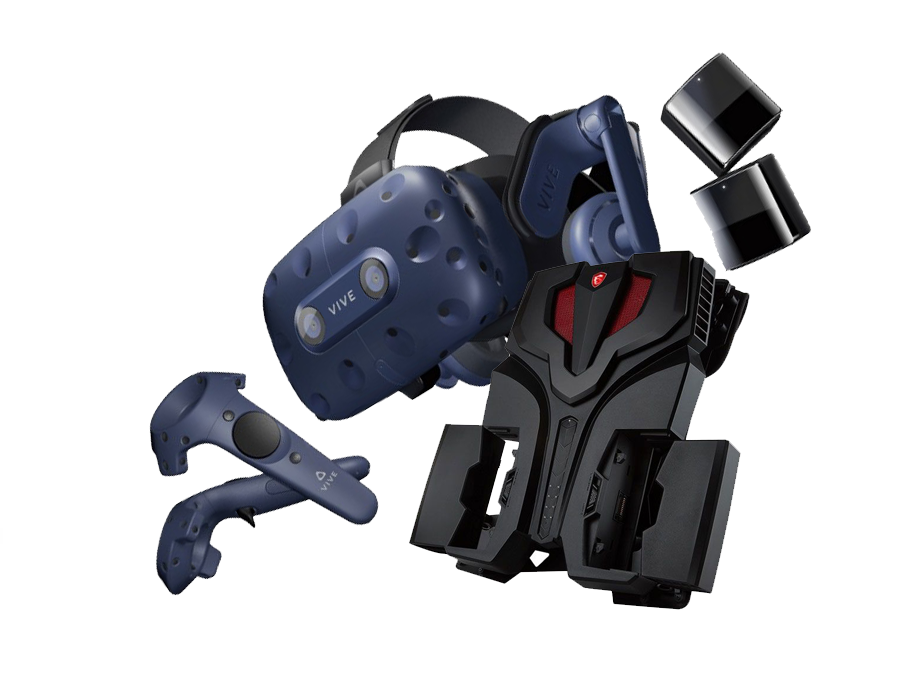 Комплект Ноутбук MSI VR ONE 7RE и HTC VIVE PRO FULL KIT 2.0