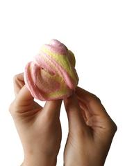 Слайм-десерт для рук Smuzi boom, 150 гр (белый)