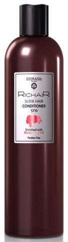 Кондиционер для гладкости и блеска волос, Egomania Richair,400 мл.