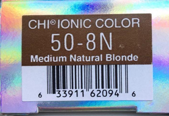 Крем-краска CHI Ионик 50-8 N 85 гр