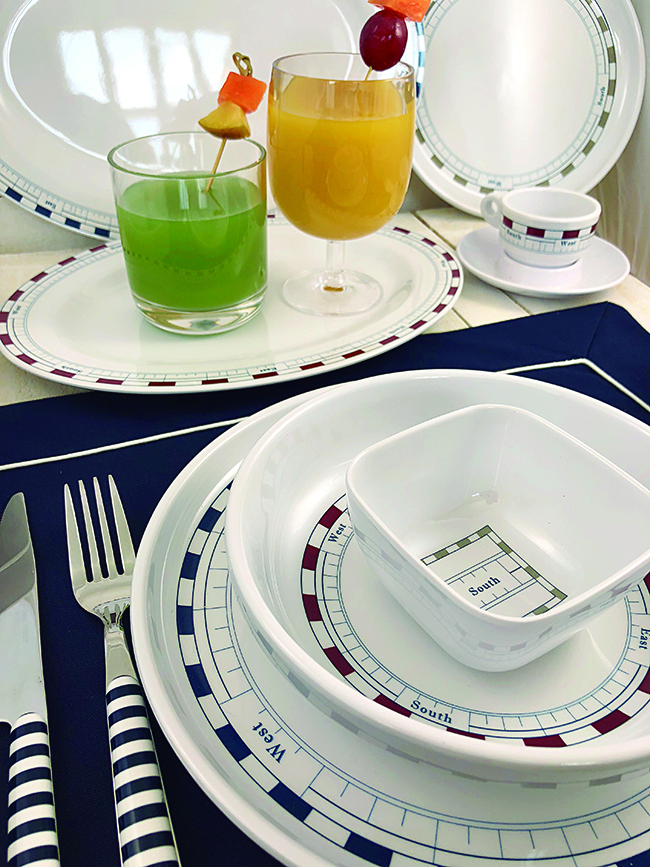 TABLEWARE PACK 6 PEOPLE, MISTRAL