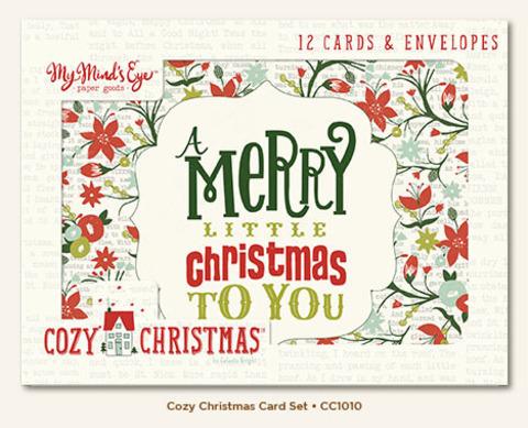 Открытки с конвертами Cozy Christmas