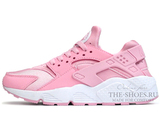 Кроссовки Женские Nike Air Huarache Pink White