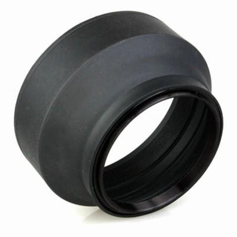 Каучуковая резьбовая бленда Etsumi Hama Lens Hood 52mm