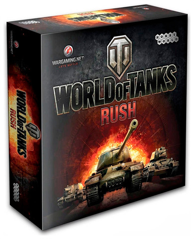Настольная игра World of tanks: Rush (2-ое русское изд.)