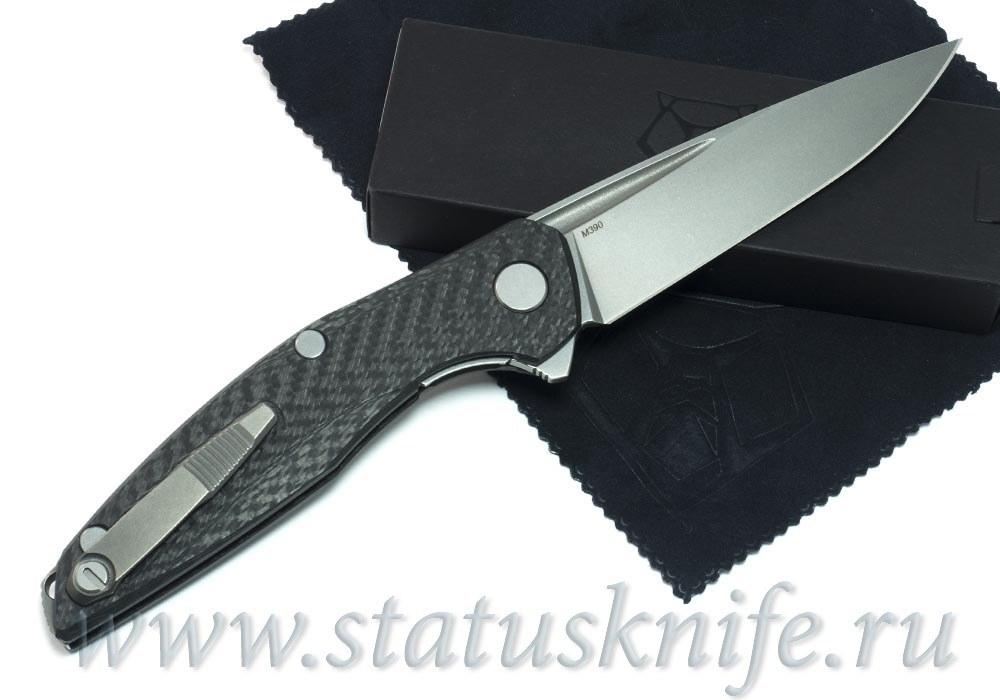 Нож Широгоров 111 М390 Долы Карбон 3D MRBS - фотография