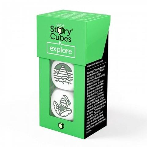 Настольная игра Rorys Story Cubes Дополнительный набор. Кубики историй -Открытия RSC23