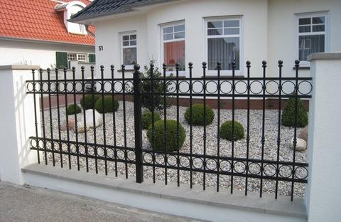 Кованый забор N-11