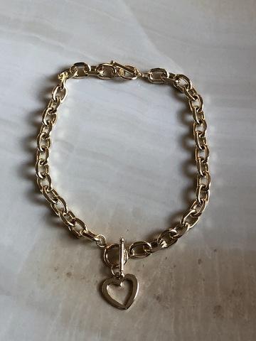 Колье-браслет Астия, позолота