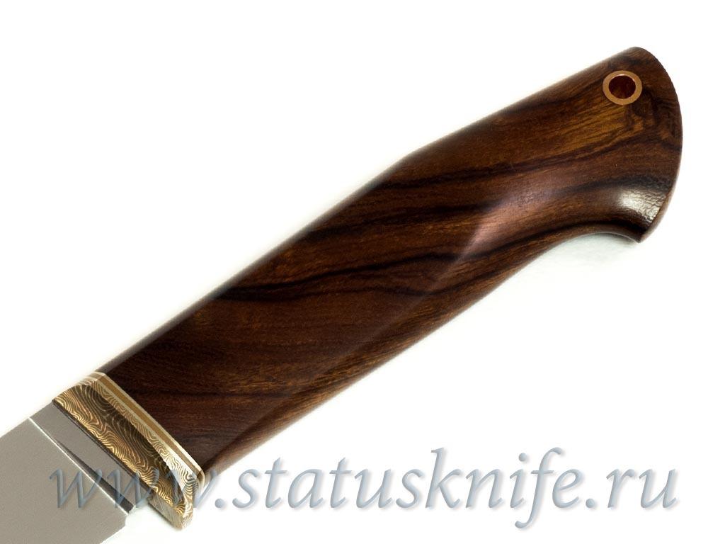 Нож авторский сталь S125VN ironwood - фотография