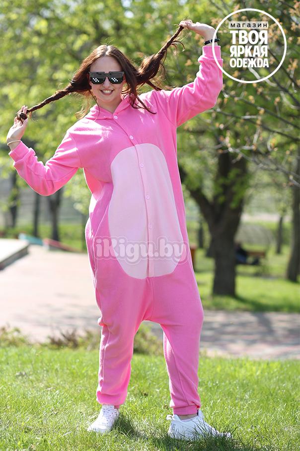 Пижамы кигуруми Розовая Пантера (флис) pink_panter.jpg