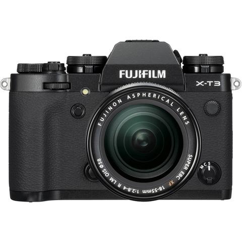 Fujifilm X-T3 Kit XF 18-55mm F2.8-4 R LM OIS Black