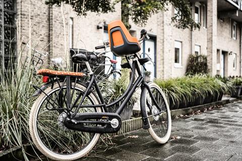 Картинка велокресло Bobike ONE mini urban grey