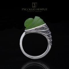 Кольцо с нефритом Allien