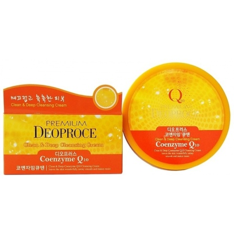 DEOPROCE PREMIUM Крем для лица очищающий с коэнзимом Q10 PREMIUM DEOPROCE CLEAN & DEEP COENZYME Q10 CLEANSING CREAM 300g