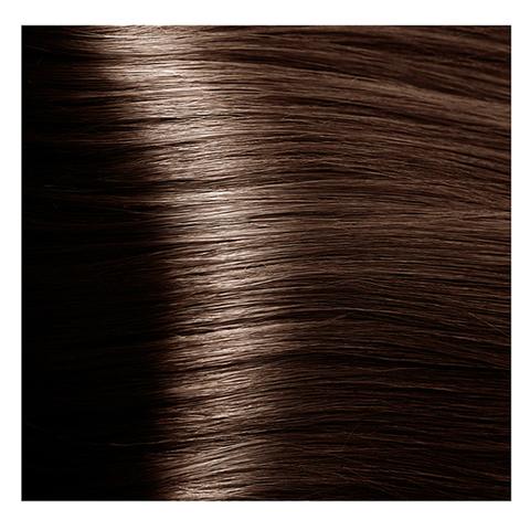 Крем краска для волос с гиалуроновой кислотой Kapous, 100 мл - HY 5.31  Светло коричневый золотистый бежевый