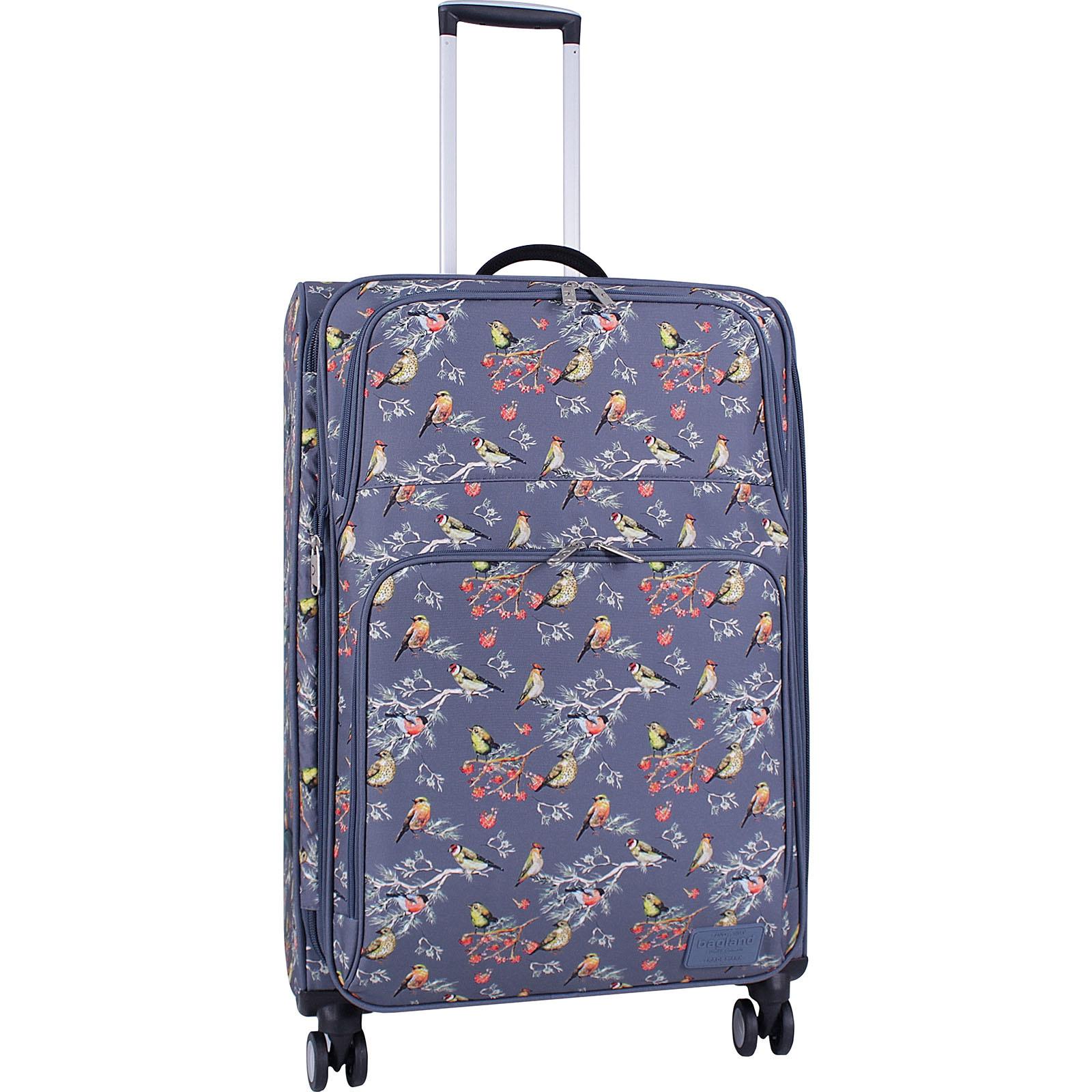Дорожные чемоданы Чемодан Bagland Валенсия большой дизайн 83 л. сублімація 445 (0037966274) IMG_5017_суб.445_.JPG