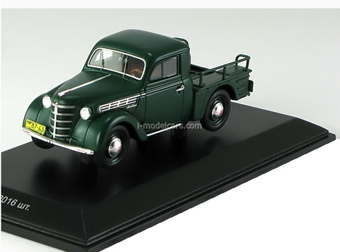 Moskvich-400 pickup 1951 dark green DIP Models 1:43