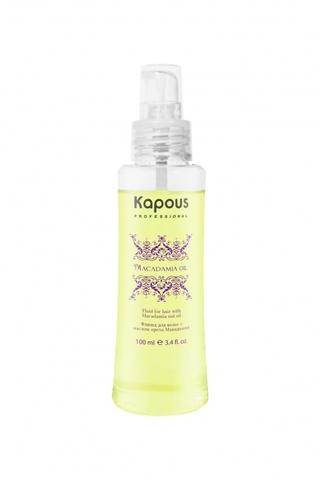 Флюид с маслом ореха макадамии, Kapous Macadamia Oil,100 мл