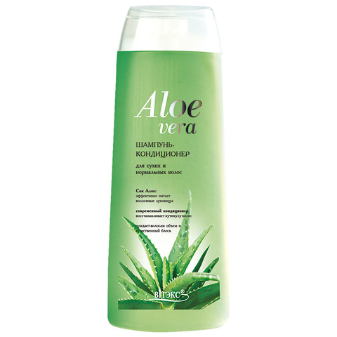 Витэкс Aloe Vera Шампунь – кондиционер для сухих и нормальных волос 500 мл