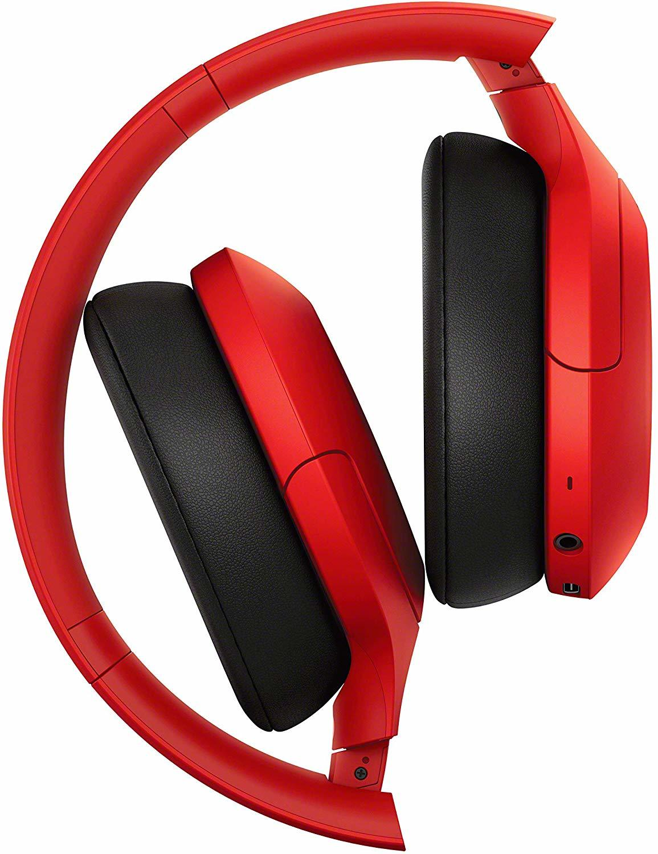 Купить наушники Sony WH-H910NR красного цвета в Sony Centre Воронеж