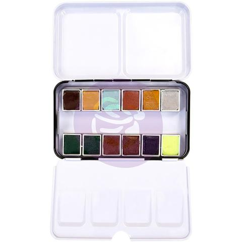 Акварельные краски Prima Watercolor Confections Watercolor Pans -Essence- 12шт.