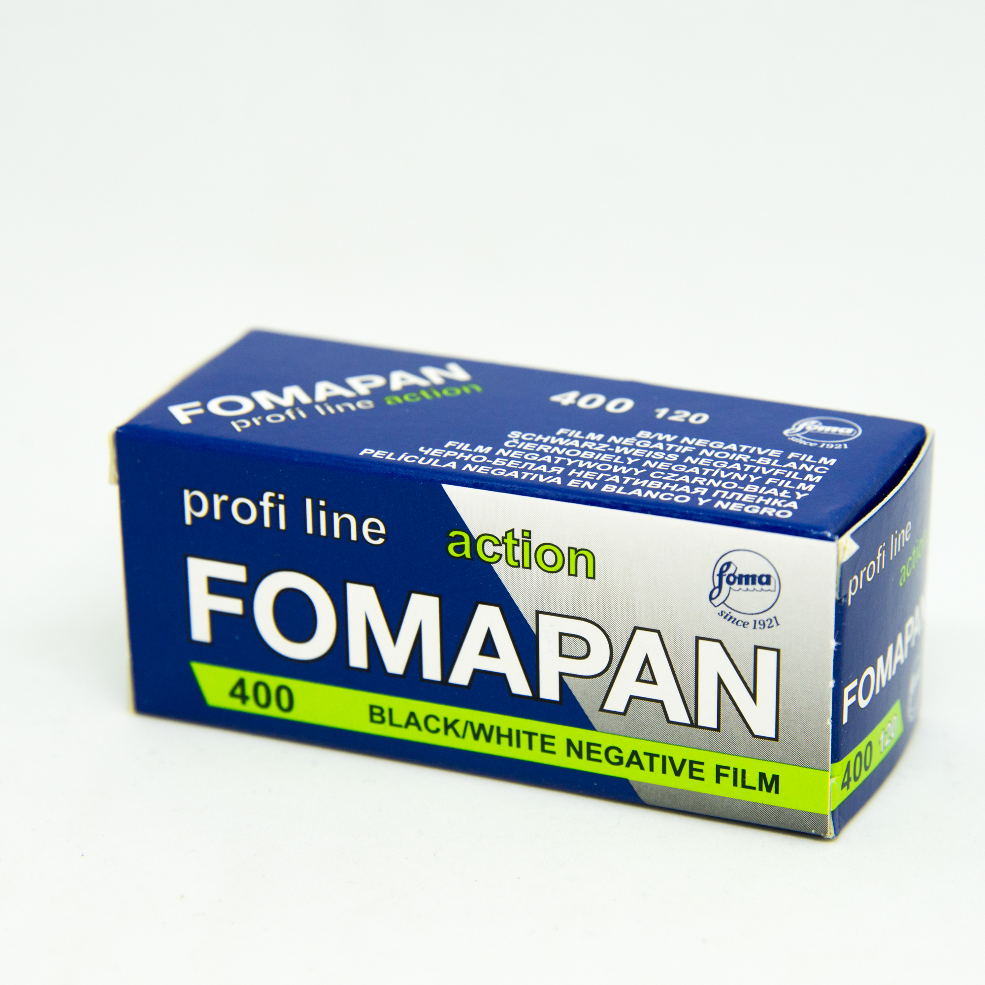 Фотопленка Foma Fomapan 400 Action /120 B&W