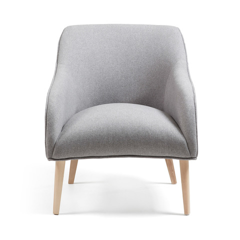 Кресло Lobby серое