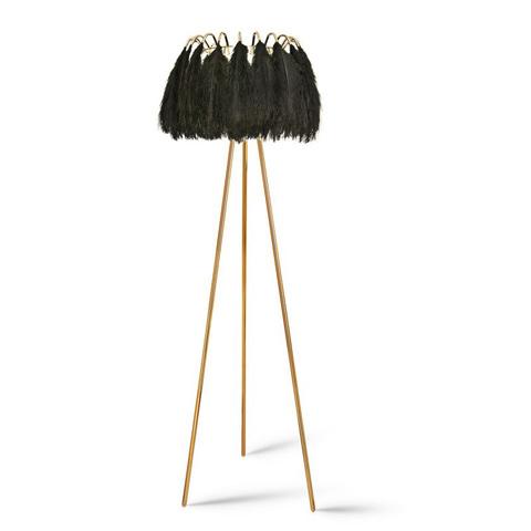 Напольный светильник Feather by Mineheart (черный)