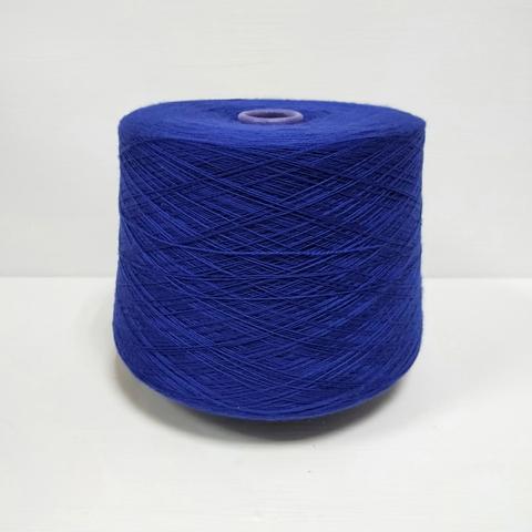 Zegna Baruffa, Cashwool/x unito RP, Меринос 100%, Интенсивный насыщенный синий, 2/30, 1500 м в 100 г