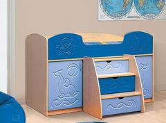 Детская кровать Омега-5 мдф*