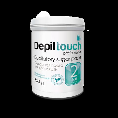 Сахарная паста для депиляции Depiltouch prof мягкая 330 г.