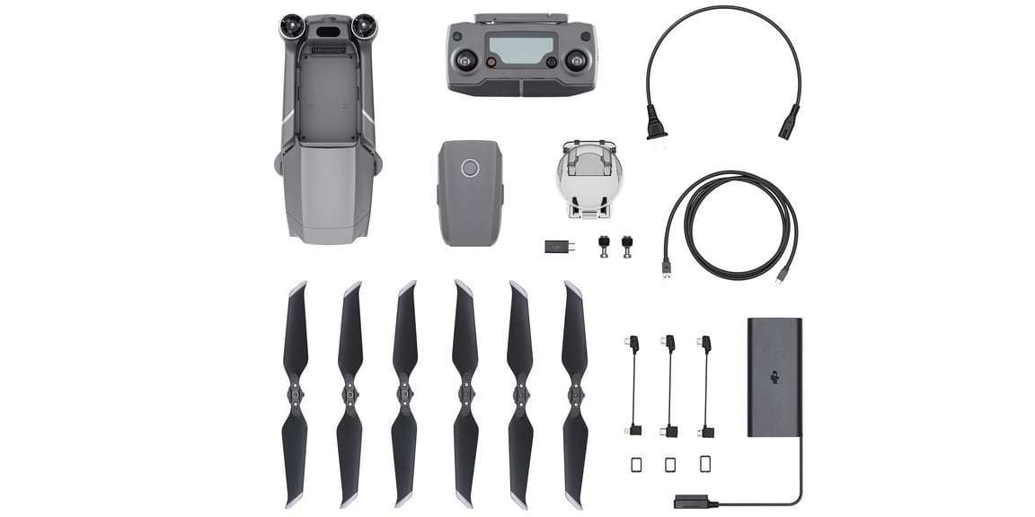 Квадрокоптер DJI Mavic 2 Pro комплектация