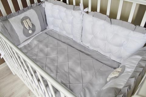 Бортики в кроватку Sweet Baby, на 3 стороны кроватки
