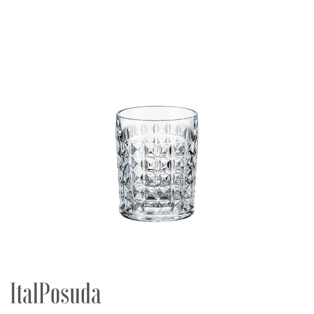Набор стаканов для виски Bohemia Diamond (Диамонд), 6 шт BOHEMIA20581