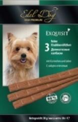 Лакомство для собак Edel Dog Колбаски с мясом зайца и печенью