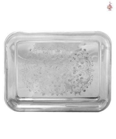 Поднос Кольчугинский прямоугольный никель