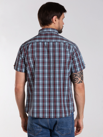 Рубашка к/р муж.  M012-03D-53GS BOSTON