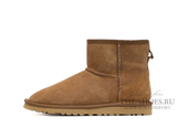 UGG MINI BAILEY BUTTON METALLIC CHESTNUT