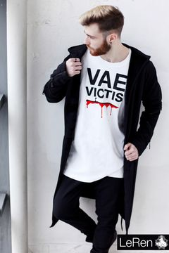 "Футболка LeRen Long White ""Vae Victis"""
