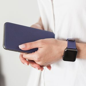 Ремешок для Apple Watch 42/44мм XS Classic из натуральной кожи теленка, цвета сирени