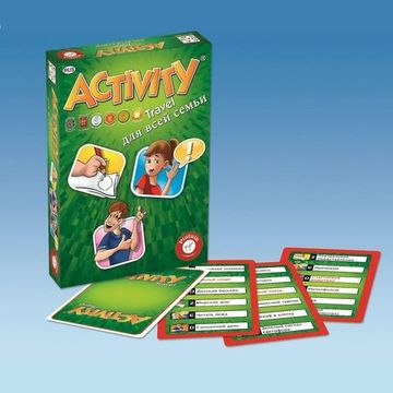 Настольная игра Activity - Travel (для всей семьи)