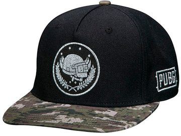 Бейсболка PUBG Pan Crest Snap Back Hat-One Size-Black