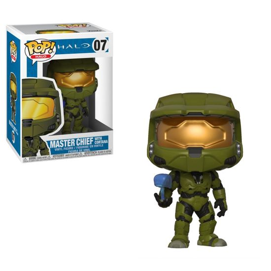 Фигурка Funko POP Halo - Master Chief with Cortana