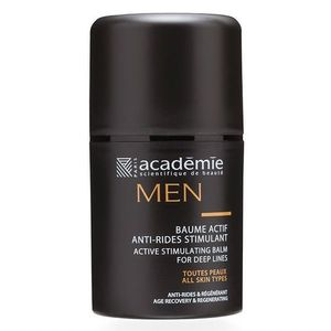 Academie Men Baume Actif Anti-Rides Stimulant Active Stimulating Balm For Deep Lines