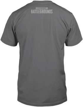 Футболка JINX PUBG Drop Zone Premium Tee Cool Grey