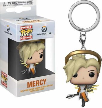 Фигурка Funko POP Overwatch - Mercy(брелок)