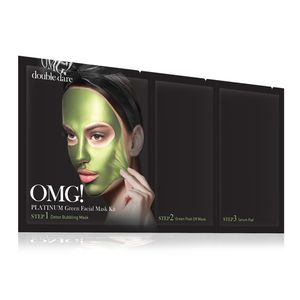 Double Dare OMG! Platinum Green Facial Mask Kit